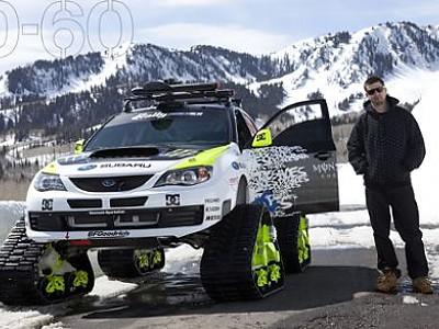 Ken Block's Trax Car - KAPS Závodní převodovky